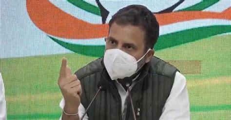 Coronavirus: Rahul Gandhi urges PM Modi to halt vaccine ...