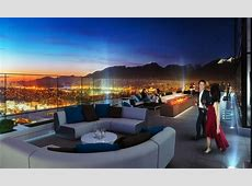 Club 55 A private rooftop amenity space atop Burnaby's