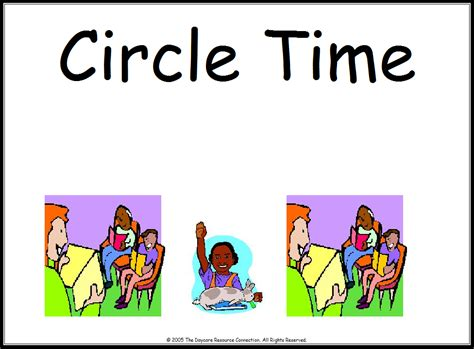 Circle Time Clipart Center Circle Time Clipart