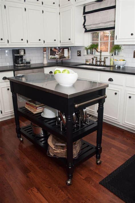 mini kitchen cart islands without wheels granite portable