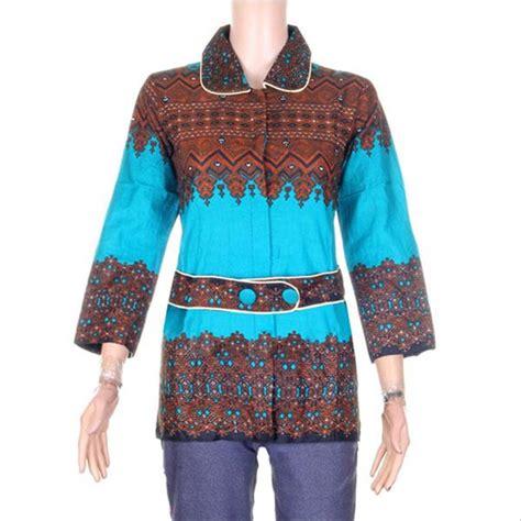 Blus Batik Atasan Wanita jual blus batik baju batik atasan wanita baju atasan
