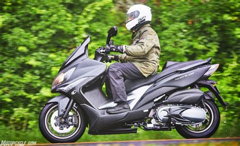 Review Kymco Xciting 400i by 2018 Kymco Xciting 400i Scooter Review Ride