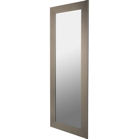 miroir loft acier l 40 x h 140 cm leroy merlin