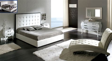peninsula white modern italian bedroom n star modern furniture