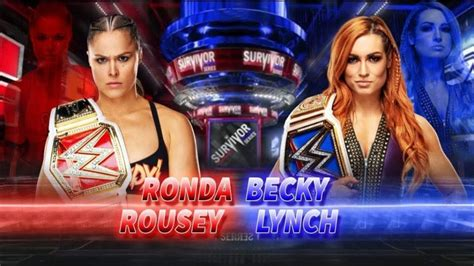 ronda rousey  becky lynch engage  hilarious