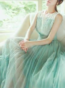 Mint Green Tulle Dress