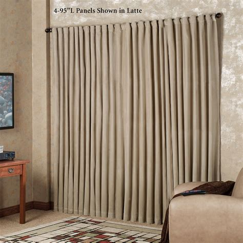 absolute zero curtains australia absolute zero eclipse home theater blackout curtain panels