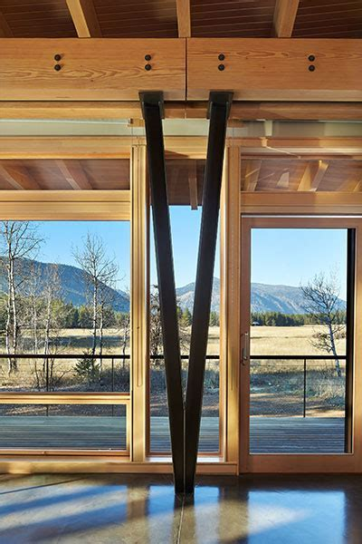 Mazama: A sustainable house in Methow Valley   10 Stunning