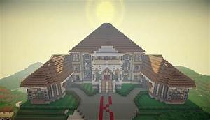 Georgian Style Mansion Minecraft Project