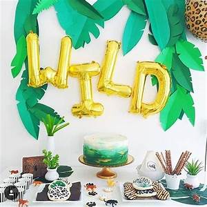 Ideas for a Natural African Safari Theme Party ⋆ The