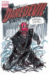 daredevil 1 darth maul cover MIX-UP by joselrodriguesart ...
