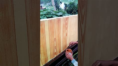 Merk Cat Tembok Untuk Motif cet tembok motif kayu ggobok jateng