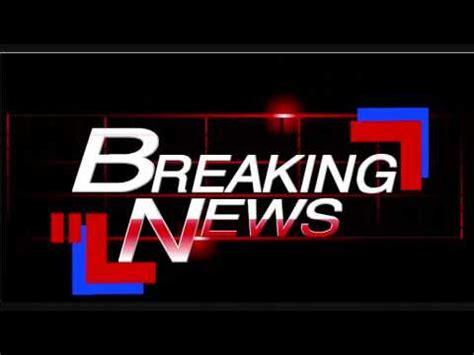 New Scanner HD Breaking news Stinger - YouTube