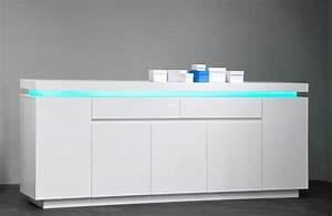 Sideboard Weiß Hochglanz 180 : wohnzimmer sideboard hochglanz m belideen ~ Bigdaddyawards.com Haus und Dekorationen
