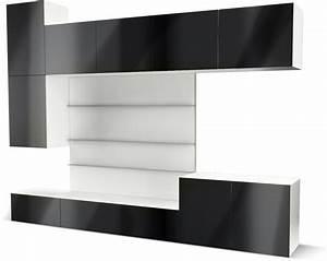 Ikea Besta Grundelemente : cad i bim objekat besta tv panel with media storage black ikea ~ Frokenaadalensverden.com Haus und Dekorationen