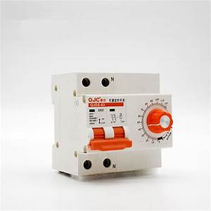 China Manual Timer Switch 2p63a Timer Circuit Breaker