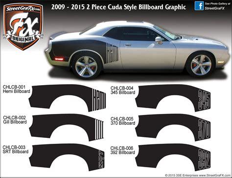 Dodge Challenger Stripes, Racing Stripes, R/T Graphics