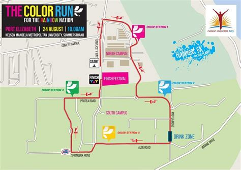 The Color Run™ Sa On Twitter Whats Up Port Elizabeth
