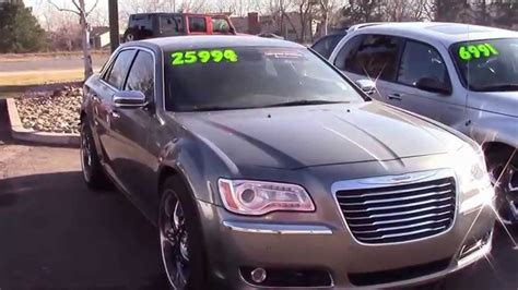 Chrysler 300c Awd For Sale by 2012 Chrysler 300c Awd 303 513 1807 For Sale