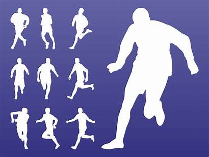 Athletes Silhouettes Pack Vector Freevector Sports
