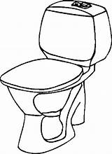 Toilet Coloring Pages Bathroom 36kb 900px Template Room sketch template