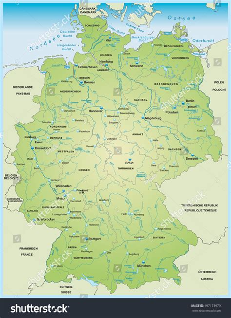 map  germany showing rivers ademe alsaceorg