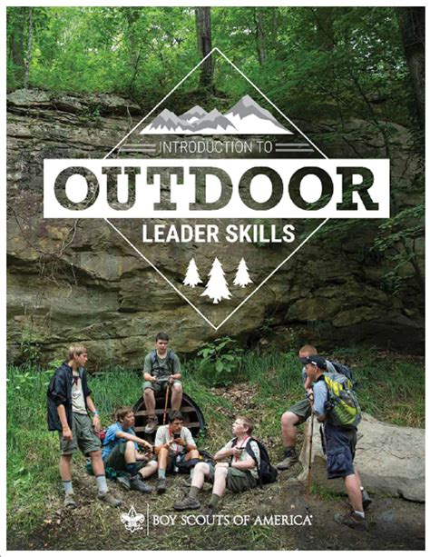 intro  outdoor leader skills
