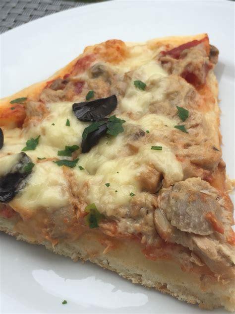 pizza creme de thon chignon a la p 226 te magique amel d 233 lices