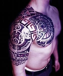 Polynesia Maori Tribald Tattoo Dwayne Johnson The Rock