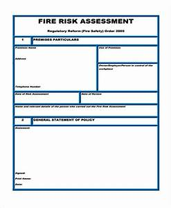Fire Risk Assessment Template Pictures To Pin On Pinterest