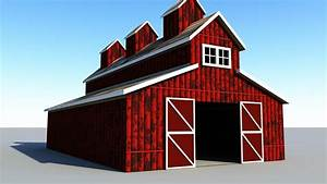 Maya 2016 Tutorial   How To Model A Classic Red Barn
