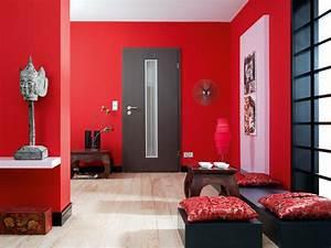 Wandfarbe Grau Beige : beispiel wandfarbe gelb grau rot wandfarbe grau rot ~ Michelbontemps.com Haus und Dekorationen