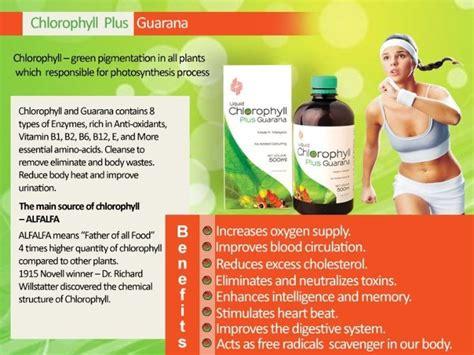 Chlorophyll Plus Guarana Benefits