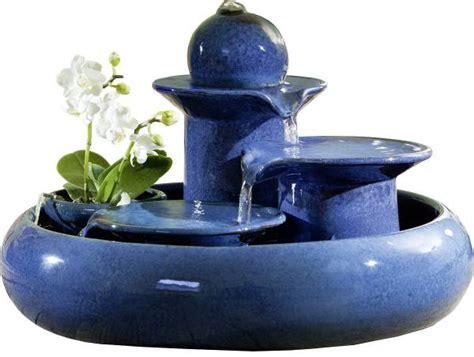 Keramikbrunnen Blau  Jetzt Online Entdecken