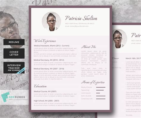 Creative Resume Packages by Premium Resume Template Package Creative Flair