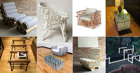 ideas de muebles  tuberia pvc  te fascinan