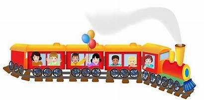 Train Tren Track Clipart Clip Trem Trein