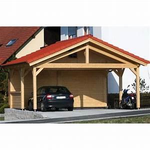 Carport Maße Für 2 Autos : bertsch presitige carport 6m x 5m double post and beam build ~ Michelbontemps.com Haus und Dekorationen
