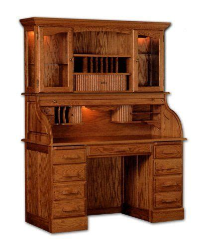 kitchen cabinets furniture solid wood roll top desk with hutch by haugen furniture by 2997