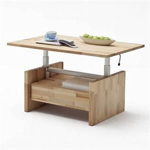 Wohnzimmertisch zum ausziehen und h henverstellbar for Tisch zum ausziehen und höhenverstellbar