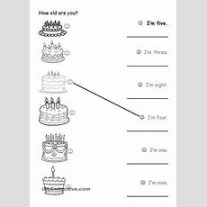 14 Free Esl How Old Are You Worksheets  Enkku  Pinterest  Worksheets, English And English Class
