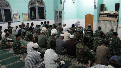 kodim  belitung gelar doa bersama masyarakat radar babel