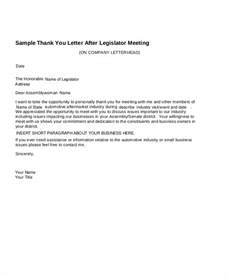thank you letter sle business meeting 28 images