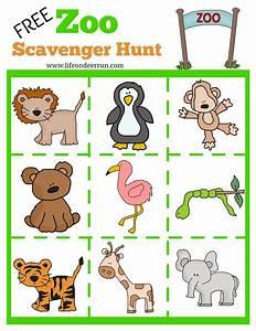 printable zoo scavenger hunt, zoo scavenger hunt ...
