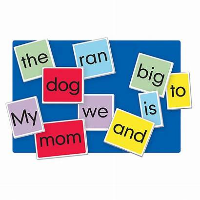 Sight Words Chart Cards Pocket Toys Lauri