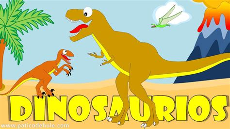 Dinosaurios Para Niños  Sonidos Y Nombres De Dinosaurios