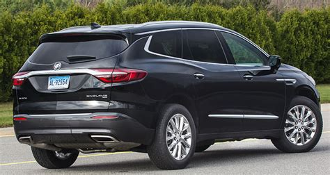 2018 Redesigned Suv by Redesigned 2018 Buick Enclave Doesn T Separate Itself From
