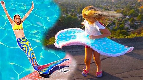 Twirly Girl Dress Unboxing Turns Her Into A Real Mermaid