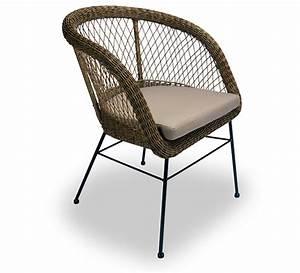 Coussin De Fauteuil De Jardin : fauteuil de jardin rotin synth tique champ tre chic ~ Dailycaller-alerts.com Idées de Décoration