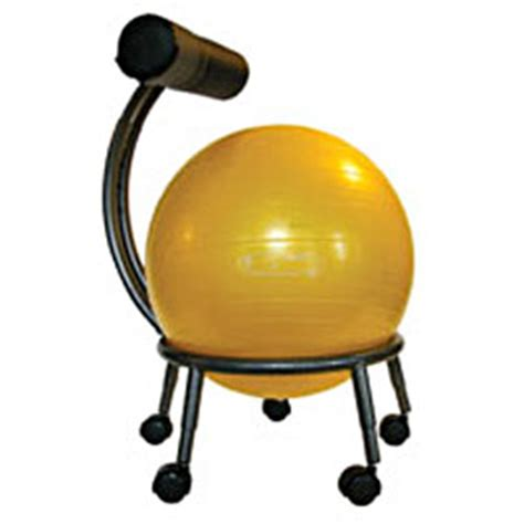 chaise de bureau ballon coup de cœur un ballon sauteur en guise de chaise de